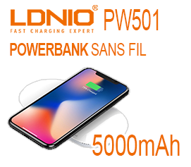 powerbank sans fil ldnio